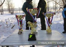 Река Татьянка. Турнир Золотая мормышка 2011