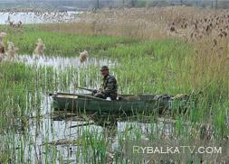 Фильм 54. Отвесное блеснение с лодки
