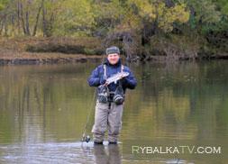 Рыбалка на реке Радуга, Камчатка