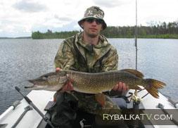 Рыбалка на таежных озёрах. Томская область
