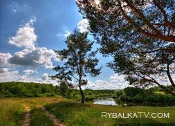 Калужская область. Река Угра