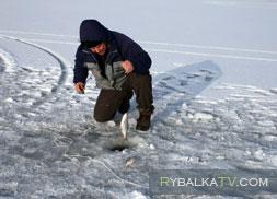 Зимняя рыбалка на Цимлянском водохранилище