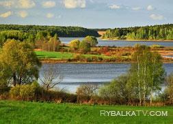 Рузское водохранилище. Осень