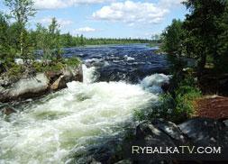 Вольный ветер. Река Умба