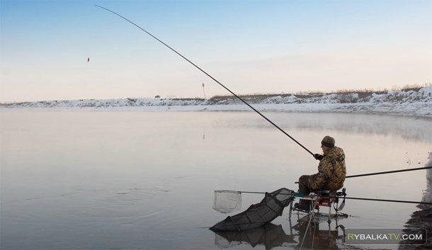 Рыбалка на штекер. Зима