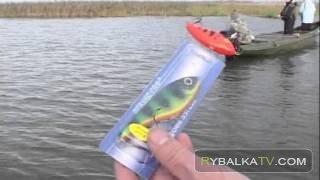 ловля окуня весной в апреле на спиннинг с берега видео