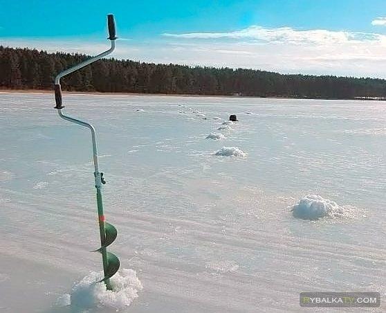 Снаряжение для ловли со льда