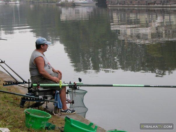 Рыбалка на Хорошёвском спрямлении