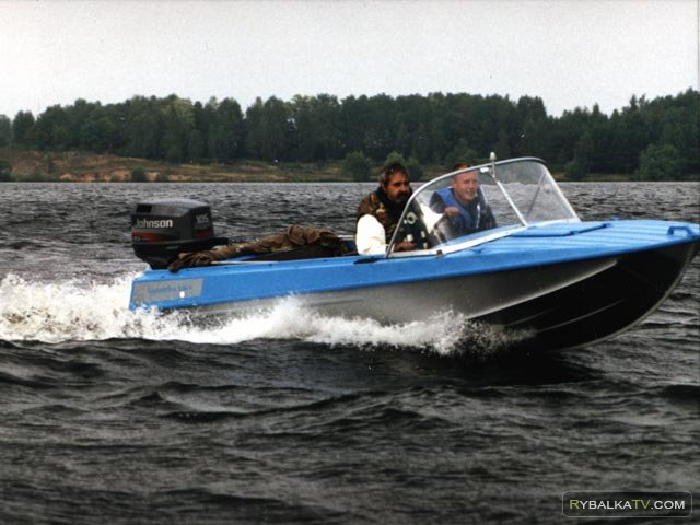 Рыбалка по-лугански. Тюнинг мотолодки «Крым»