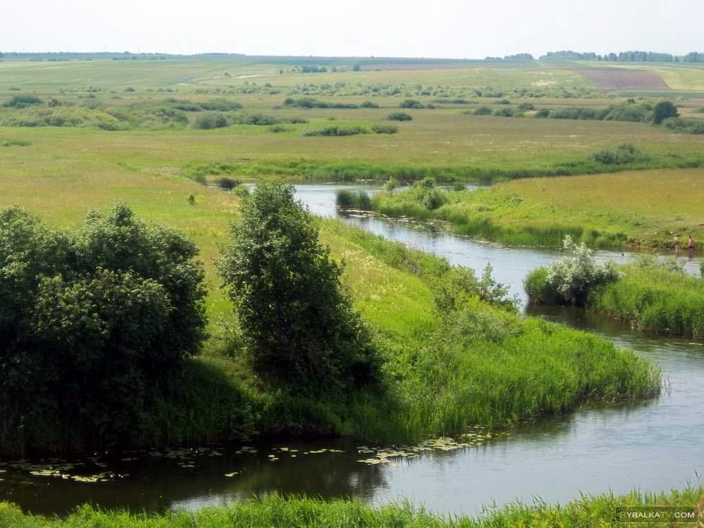 Реки Имза и Урга. Рыбалка в Нижегородской области