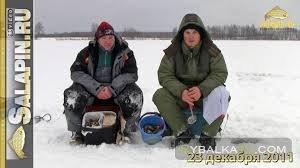 Скоростная ловля мелкого окуня со льда