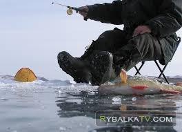 Зима. Кама. Славянская рыбалка
