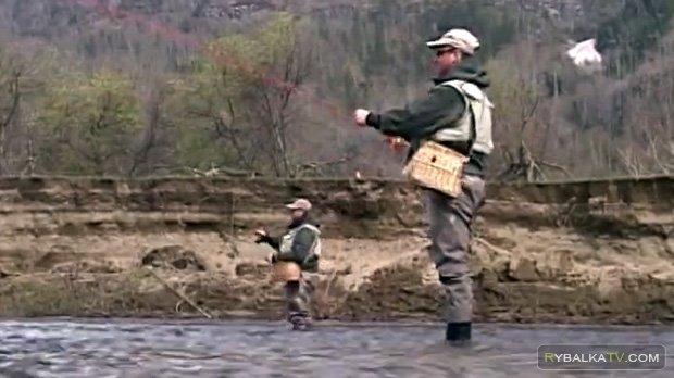 Весенняя рыбалка на Алтае