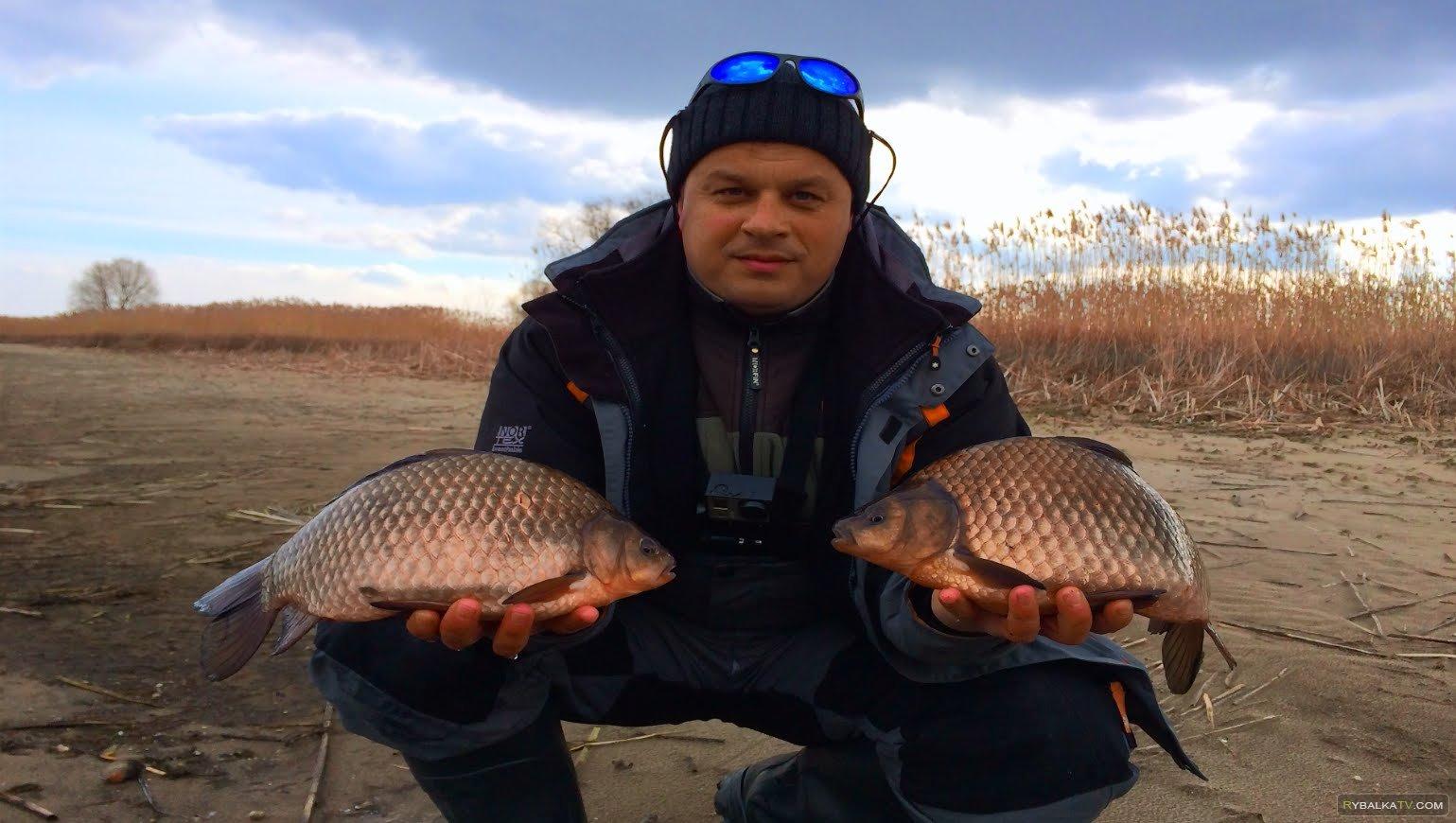 Клуб рыбаков. Ловля огромных карасей на силикон. Днепр 2015