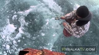 Ночная рыбалка зимой. Вилейское водохранилище