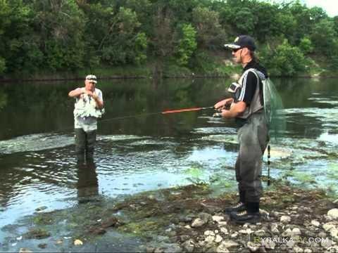 Рыбалка по-лугански. Голавль на большой реке